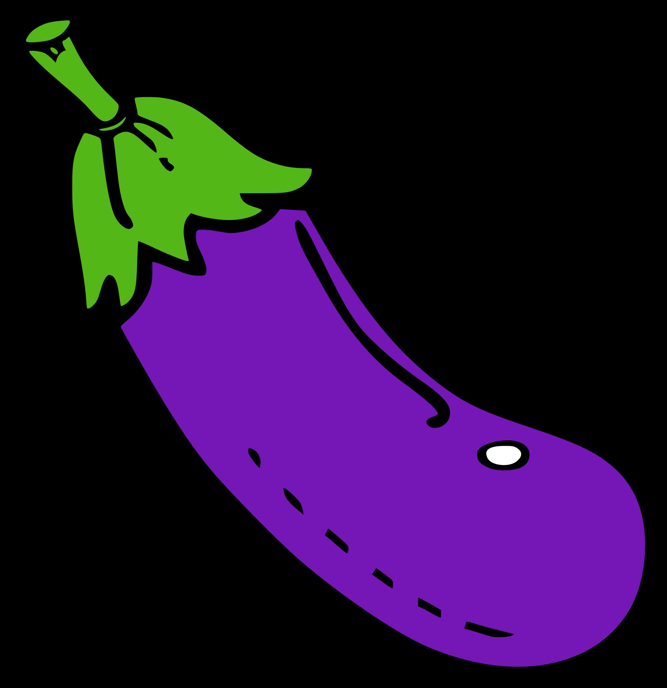image free Big image png. Eggplant clipart.