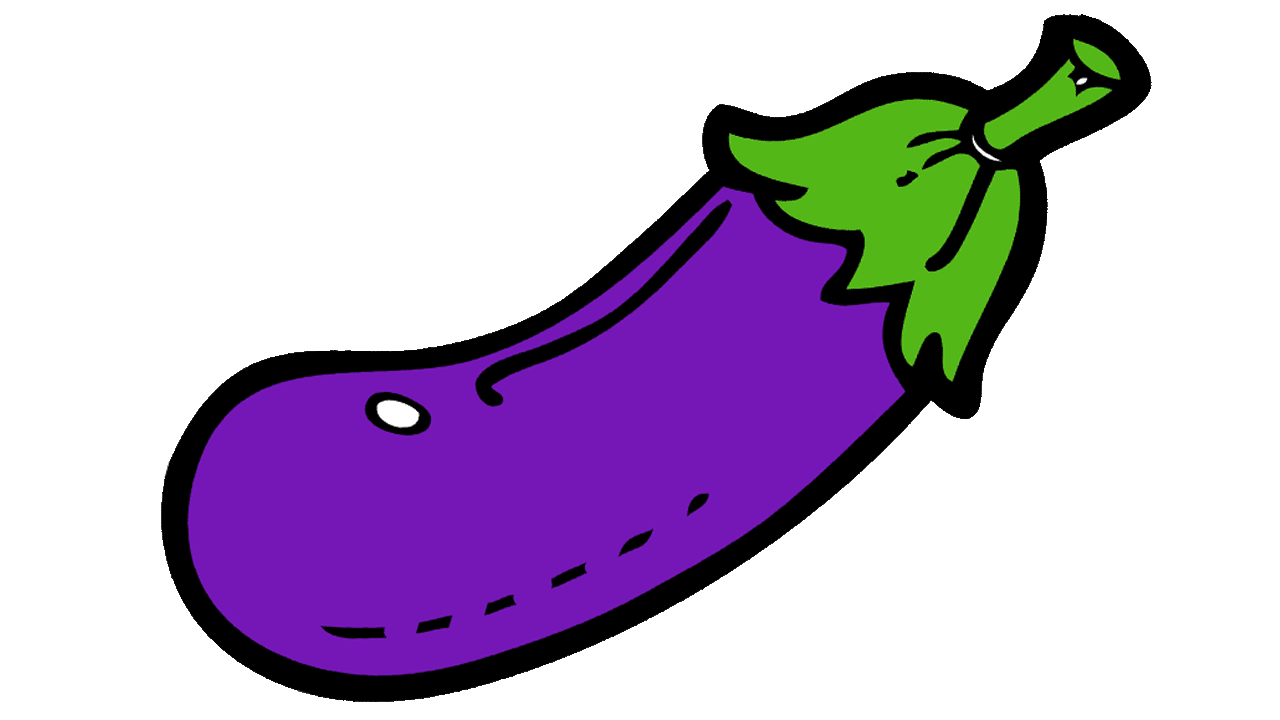 image royalty free Eggplant Clipart color purple