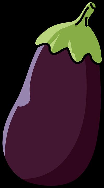 image free Individual fruit vegetable free. Eggplant clipart face.