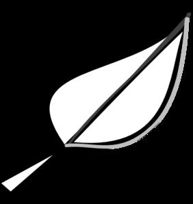 banner free stock Leaf Outline Clip Art at Clker