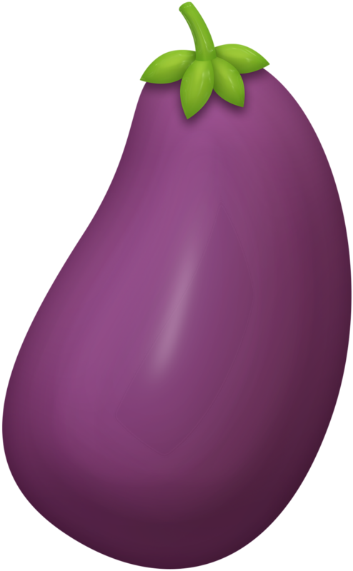 royalty free stock Eggplant Clipart vegetable