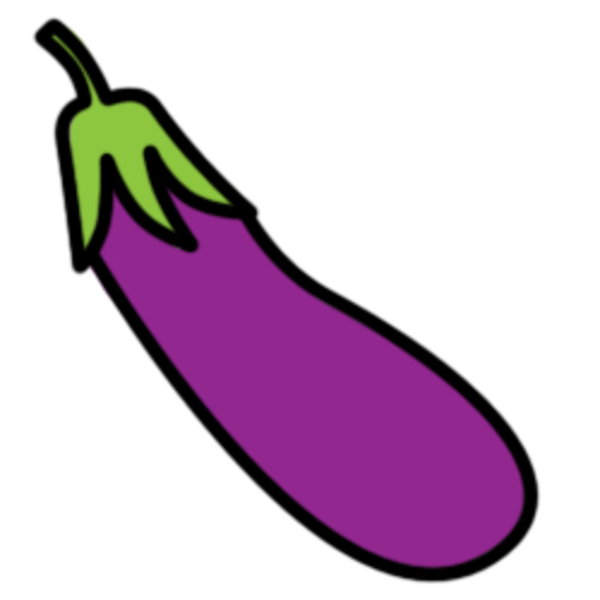 picture free Eggplant clipart. Free cartoon cliparts download