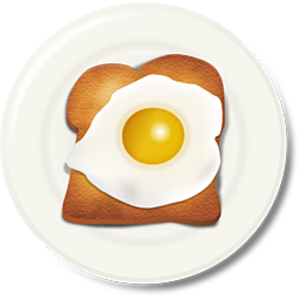 clipart freeuse download Toast clipart egg. Breakfast free images at.