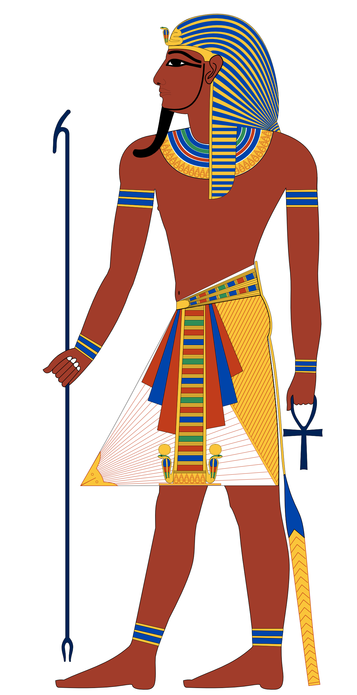 svg transparent Ra pharaoh pinterest. Egyptian clipart egyptian figure
