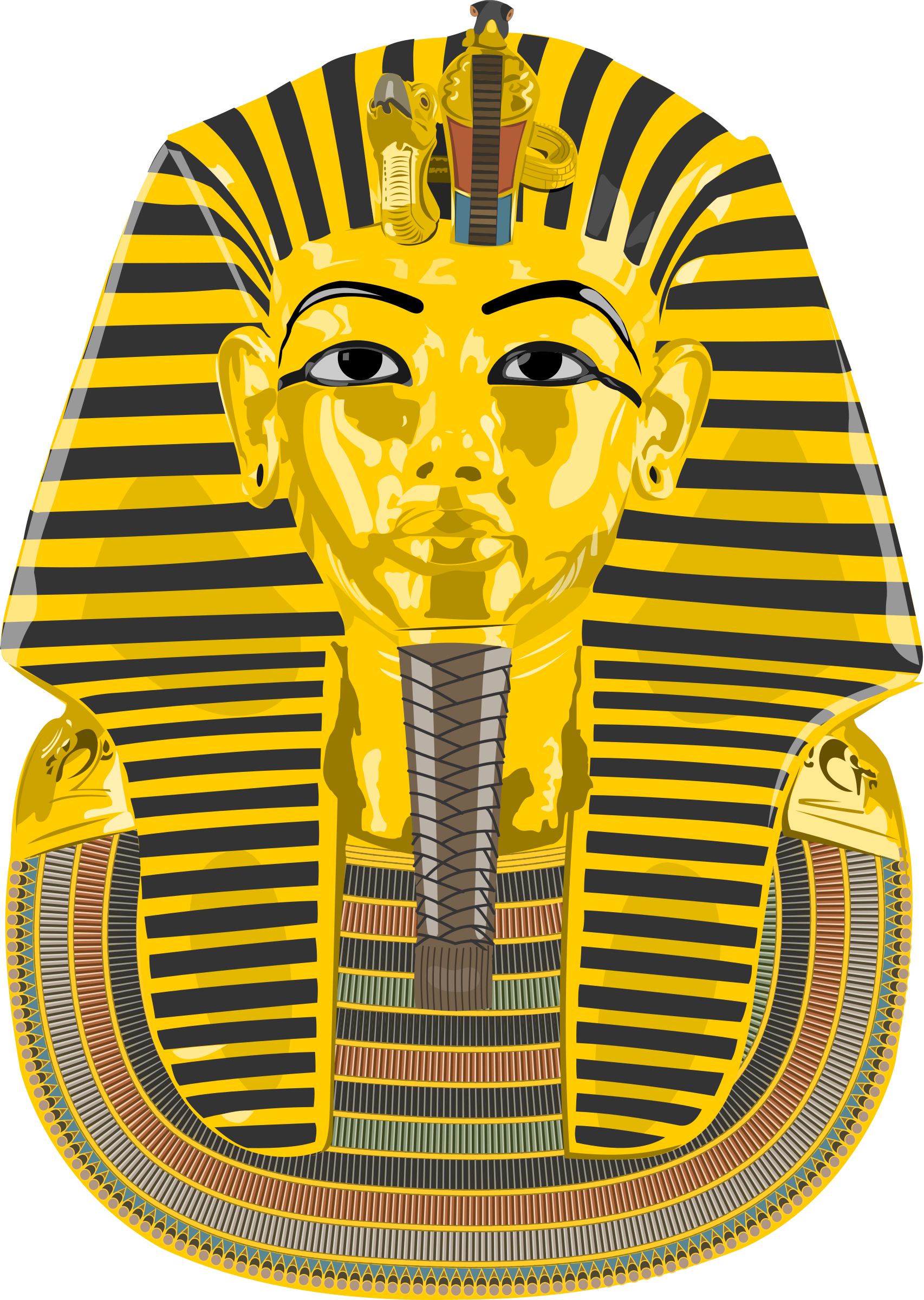 vector royalty free library Big image png. King tut clipart