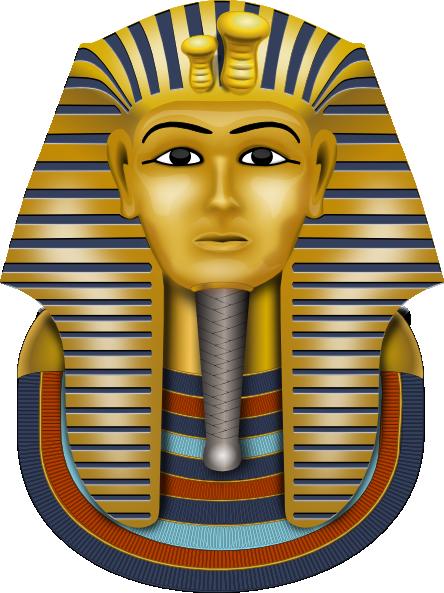 free download Golden Mask King Tut Clip Art at Clker