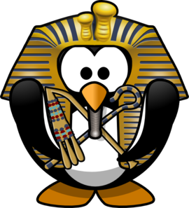 vector black and white Egyptian clipart. Penguin clip art at.