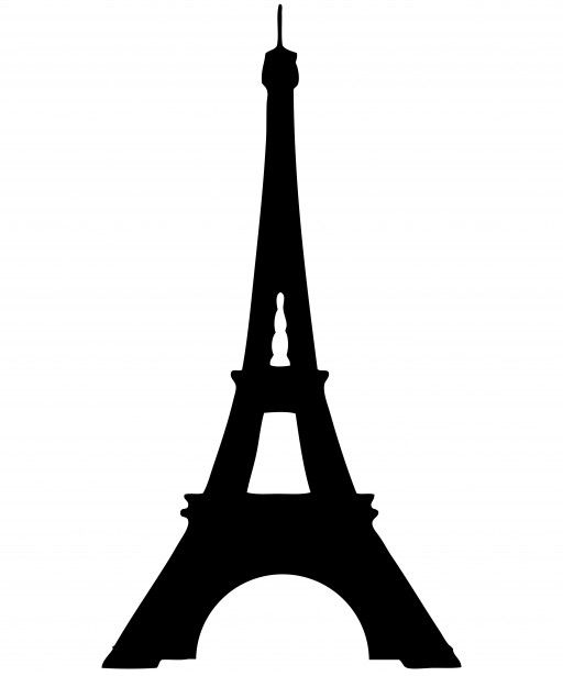 clipart library stock Eiffel clipart. Tower silhouette free stock