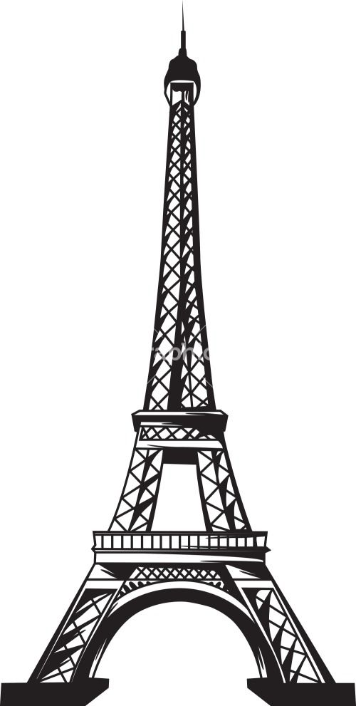 clip art library  tower travel. Eiffel clipart