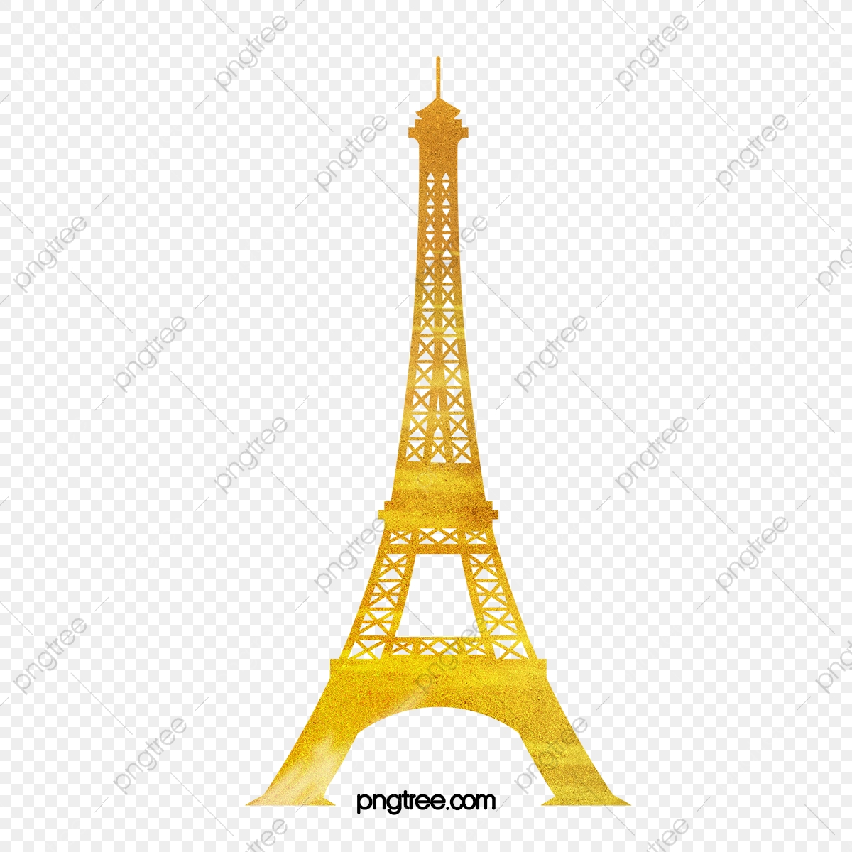 picture library library Eiffel clipart golden. Transmission tower love png
