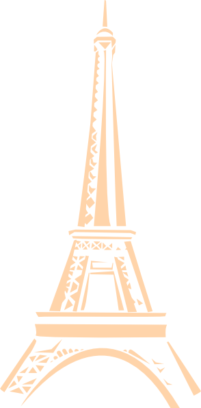 vector black and white library Tower png clip art. Eiffel clipart golden