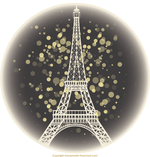 clip transparent download Free tower click to. Eiffel clipart golden