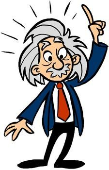 graphic freeuse stock Einstein clipart. Clip art science general