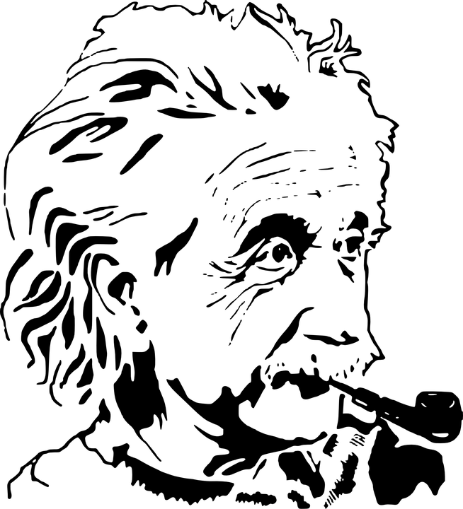 clipart transparent stock Albert illustration transparent png. Einstein clipart.