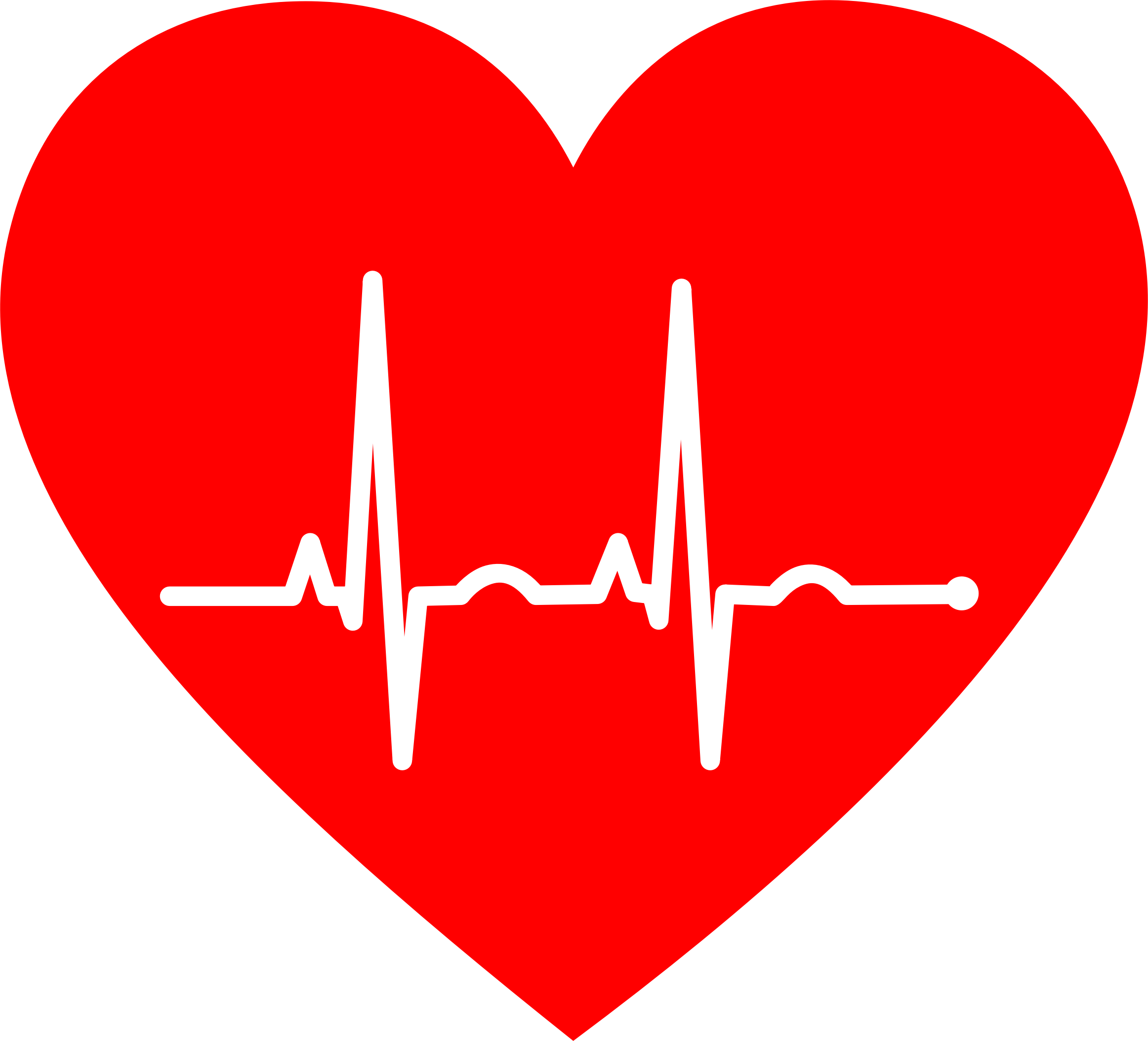 clipart royalty free library Ekg clipart. Heart big image png