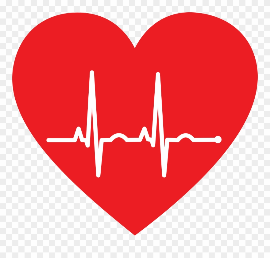graphic library stock Free of a heart. Ekg clipart.