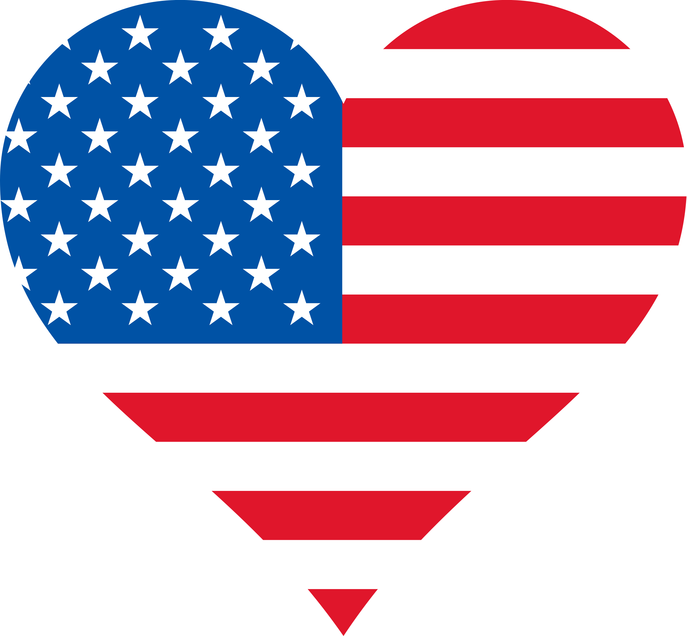 picture stock American clipart usa shape. Stars and stripes heart