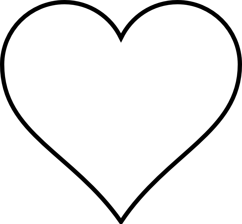 clip royalty free stock Symbol image collections meaning. Double heart clipart black and white