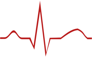 graphic black and white Ekg Clip Art at Clker
