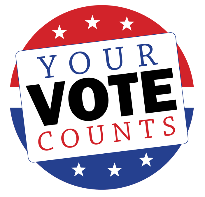 clip art royalty free download Your vote counts clipart.  municipal elections.