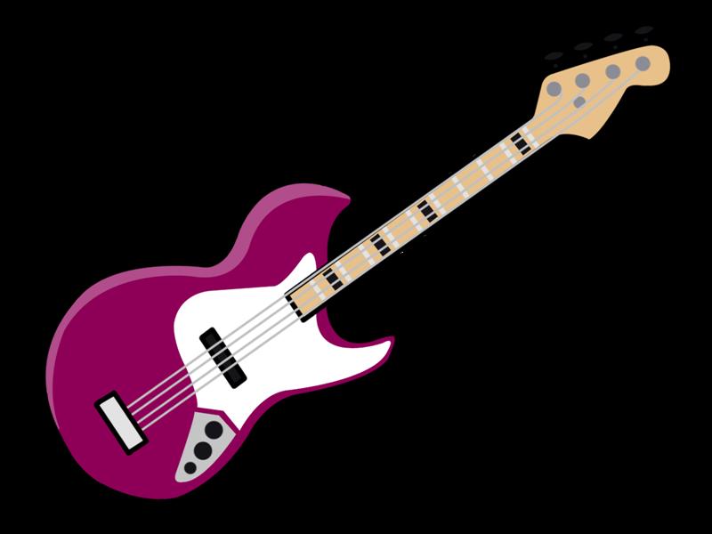 banner stock 50s clipart guitar. Cartoon