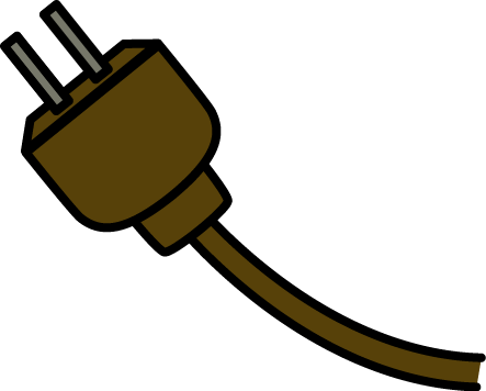 vector library download Electrical Cord Clip Art