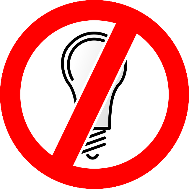 graphic library stock power vector outage #101585629