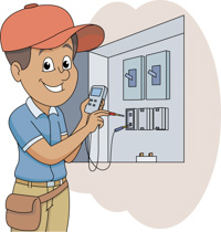 jpg library download Free cliparts download clip. Electrician clipart.