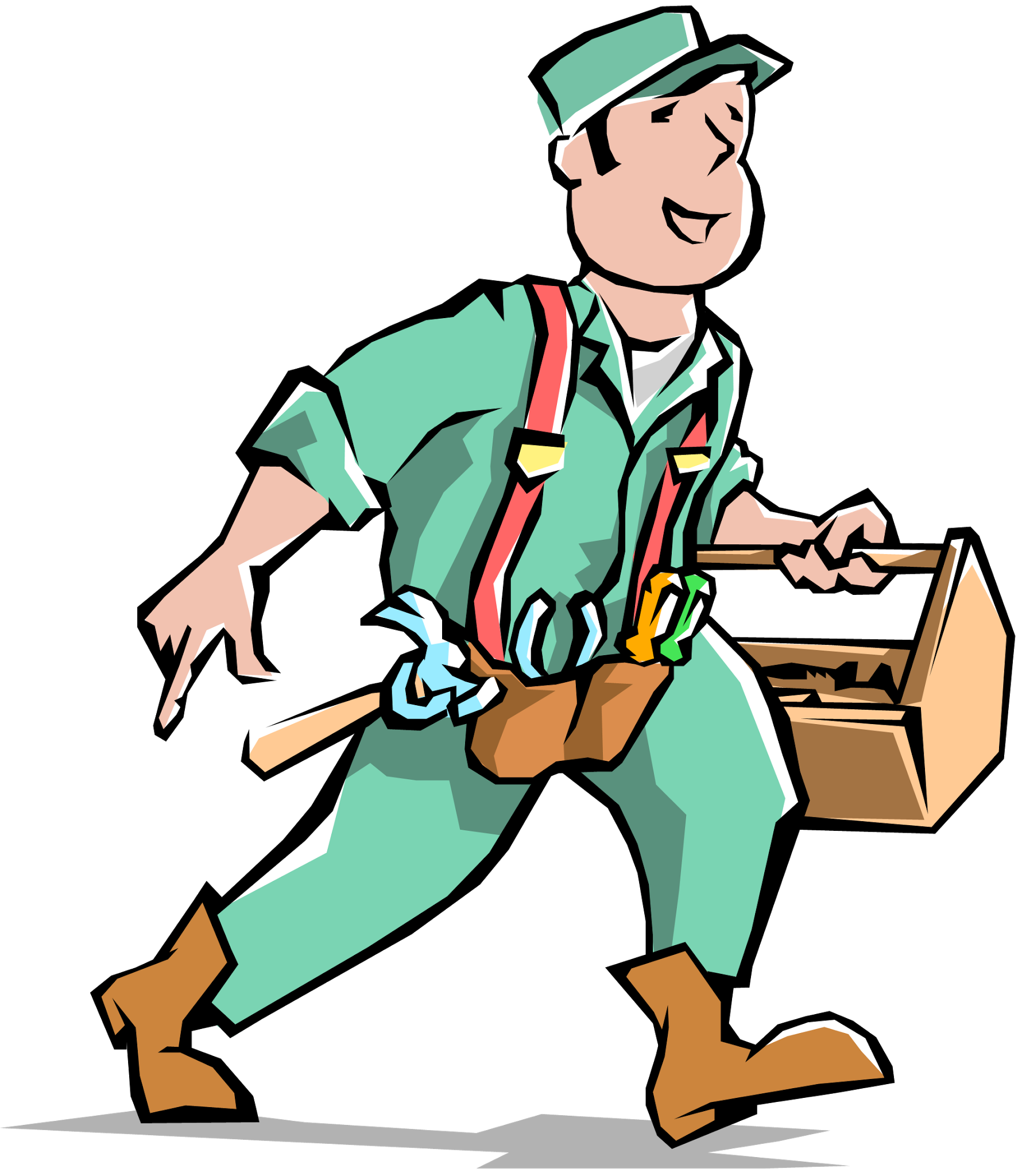 clip library library Electrician clipart. Pleasurable inspiration handyman pictures.