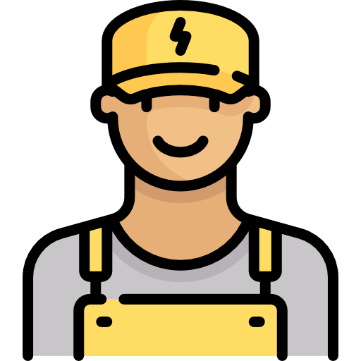 picture black and white Electrician clipart. Electrical contractor free on.