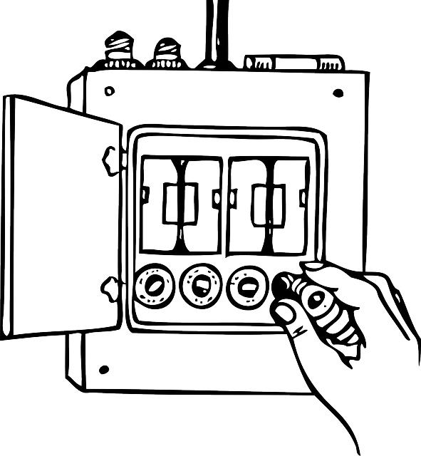 clip royalty free stock The best ac surge. Electrician clipart breaker panel