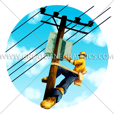 picture free library Electrical production ready artwork. Lineman svg clipart