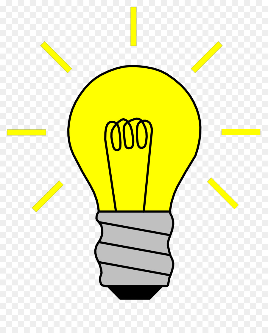 clip Light bulb cartoon hand. Electricity clipart