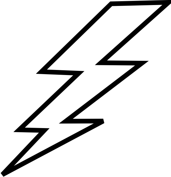 jpg free download Electricity clipart. Black and panda free.