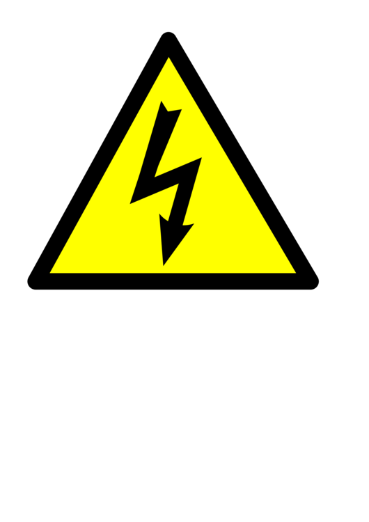 image library library High voltage Electricity Electric potential difference Hazard Sign