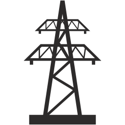 freeuse stock Electric Tower icon