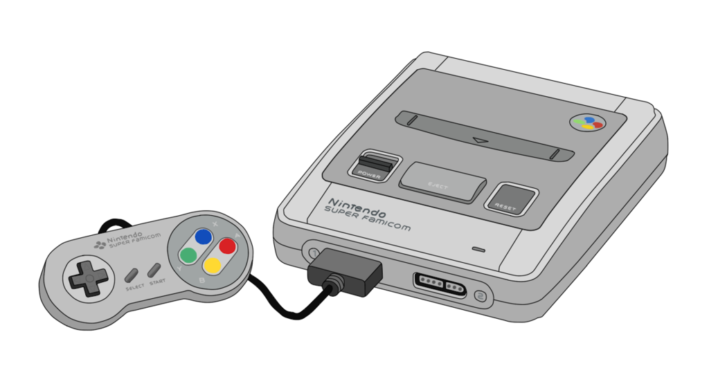jpg library SNES Console