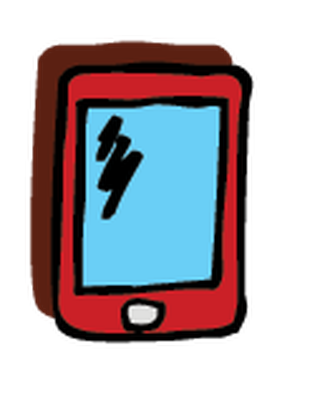 transparent download Electronics clipart. Cell phone the arts.