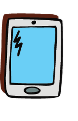 png library stock Electronics clipart. Cell phone pbs learningmedia.
