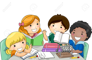 clipart freeuse library Reading free images at. Elementary clipart.
