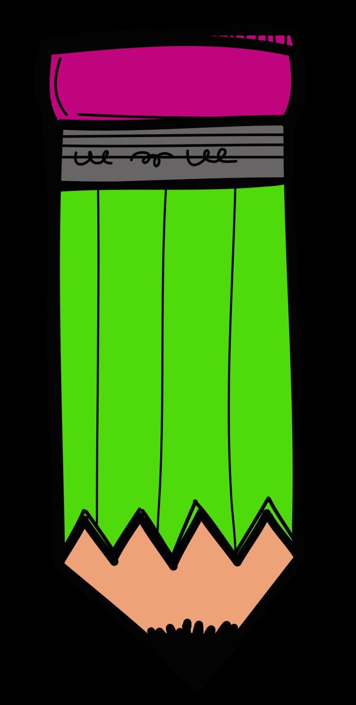 transparent stock melonheadz pencil clipart #65887783