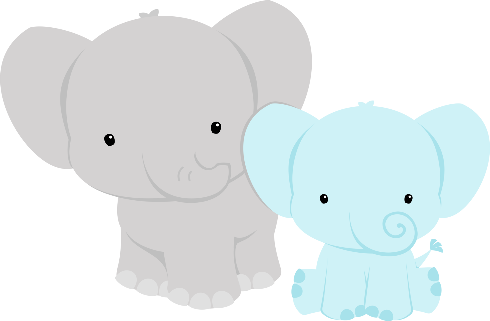vector royalty free download Elephant baby shower clipart.  shared ver todas