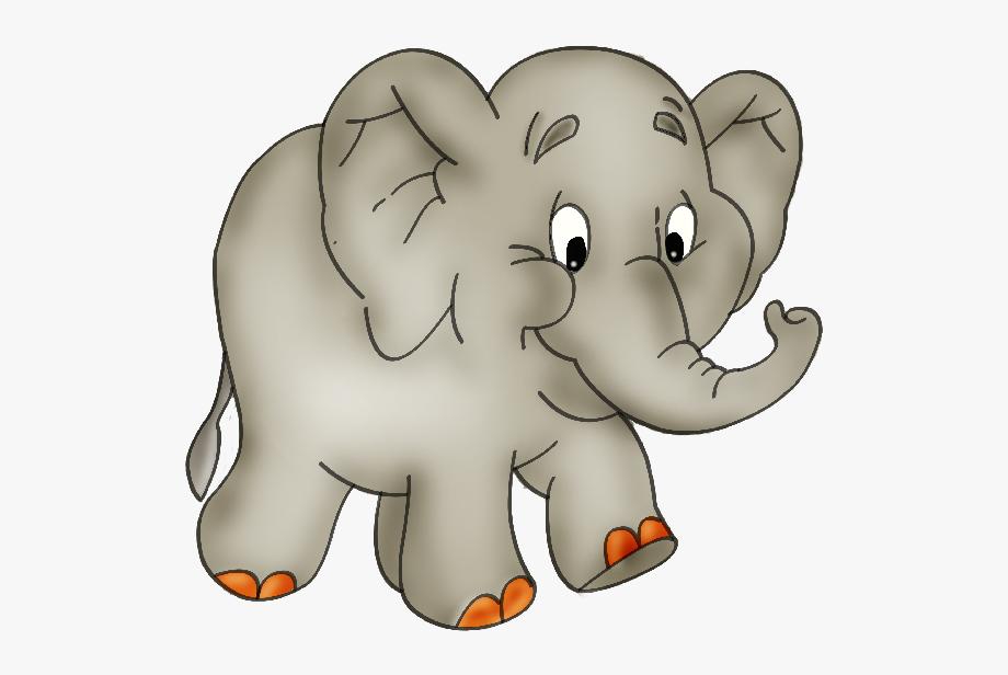 image transparent Elephant clipart. Baby cartoon .