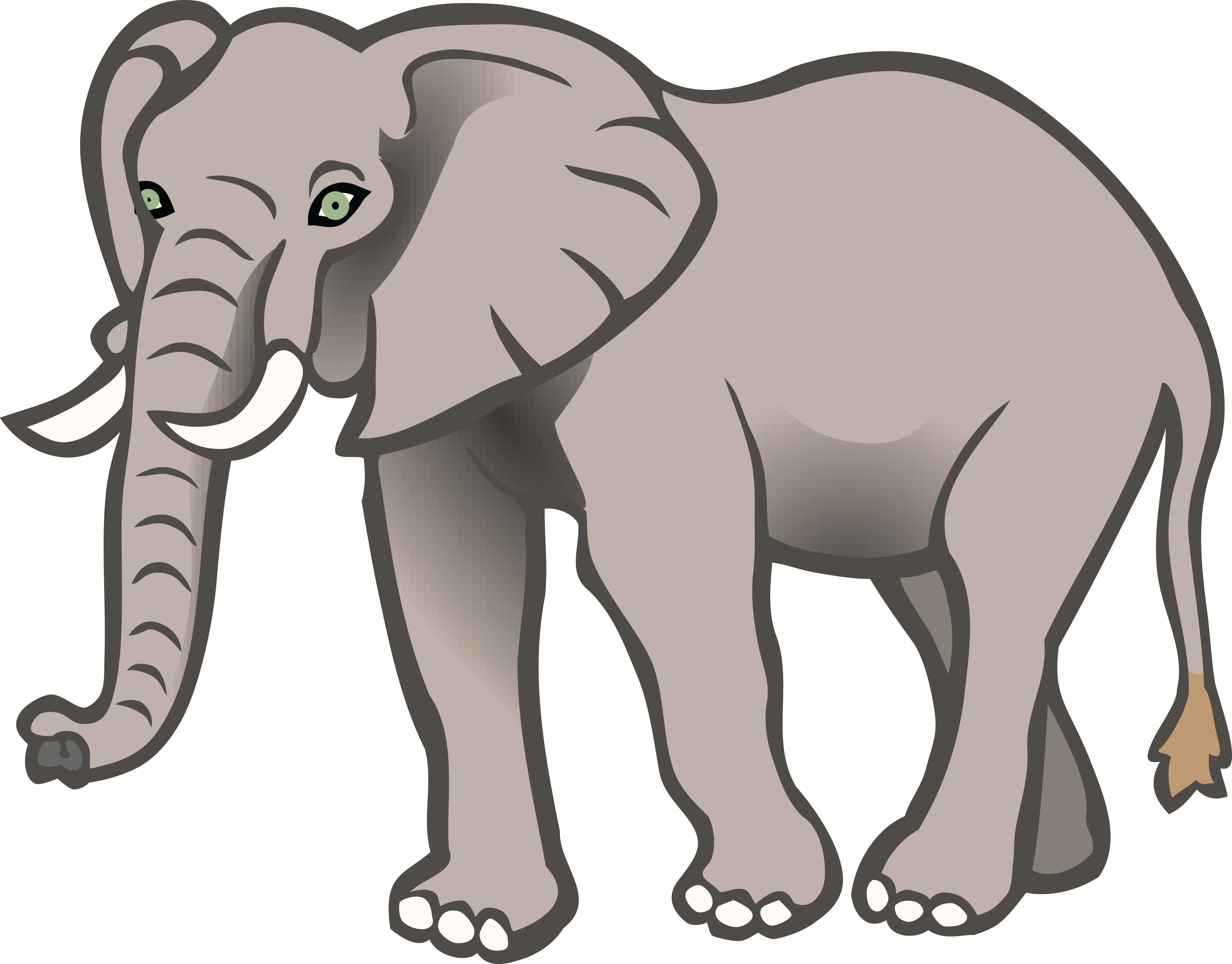 transparent library Elephant clipart. Download for free png.