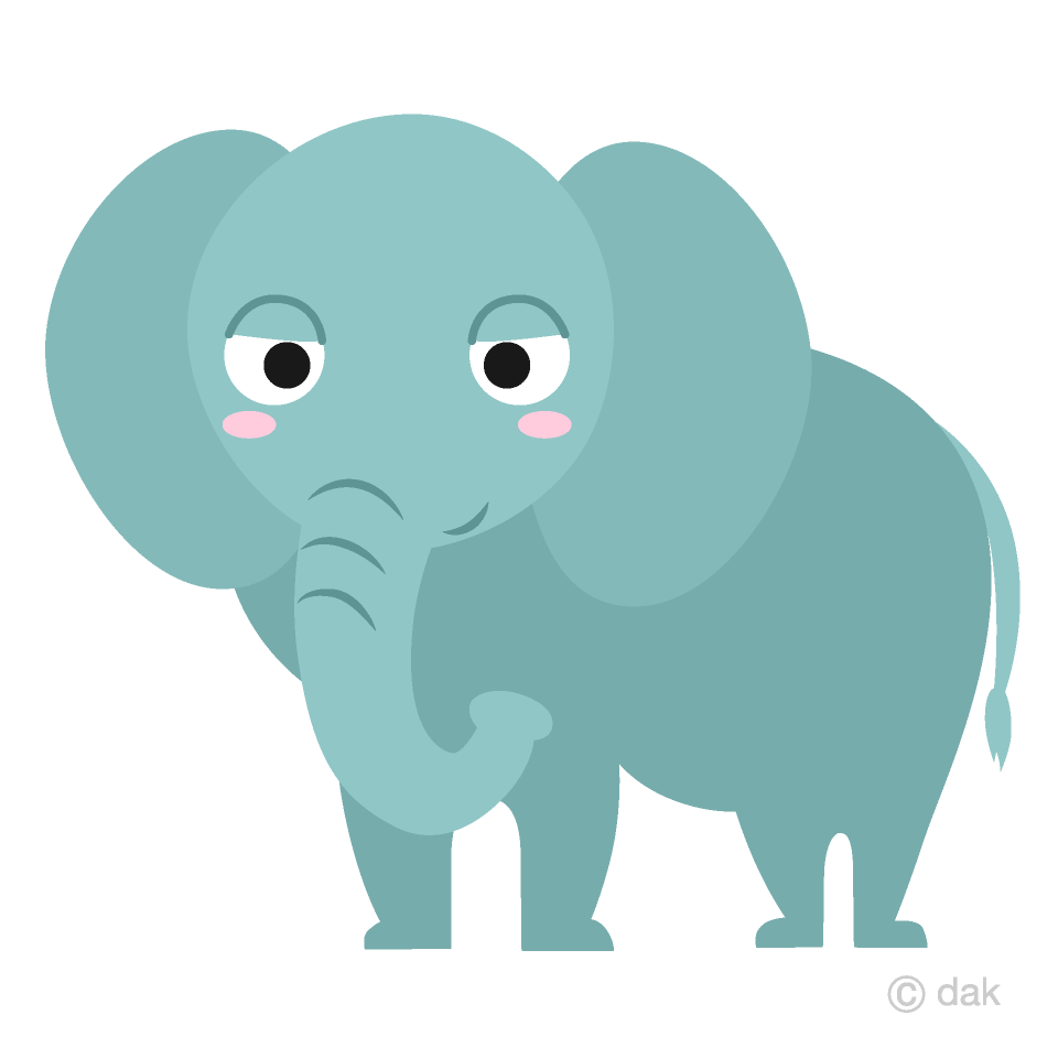 clip art transparent Friendly free picture illustoon. Elephant clipart.