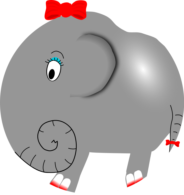 svg stock Makeup clipart animated. Free elephant and animations.