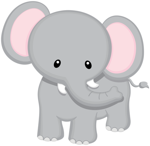jpg library download Baby jungle animal clipart. Elephant png i love