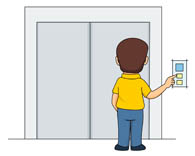 jpg library stock Elevator clipart. Clip art pictures panda