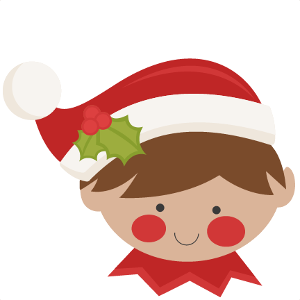 graphic royalty free Christmas Elf Clipart