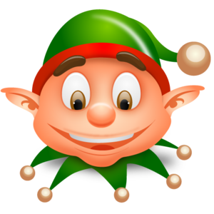 transparent library Elf clipart black and white. Clip art panda free